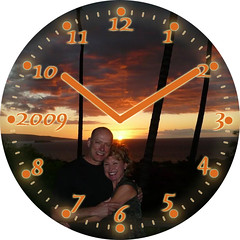 Maui Vacation Clock | by customclockface