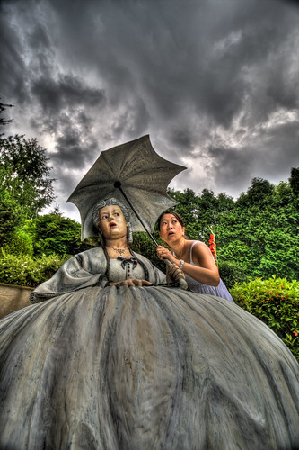 sky storm statue newjersey hamilton nj helen monet jersey sculpturegarden hdr mercercounty groundsforsculpture thegardenstate