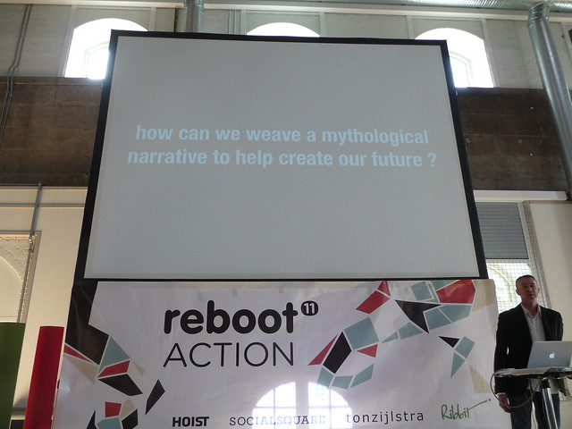 Lee Bryant at Reboot 11