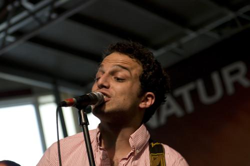JohnMichael belts out original music at Gulf Aid