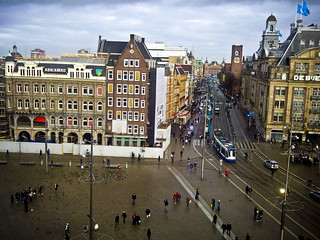 Dam Square, Amsterdam | by Roomic Cube