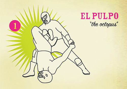 Luchaddys: Techniques: El Pulpo | by sikelianos