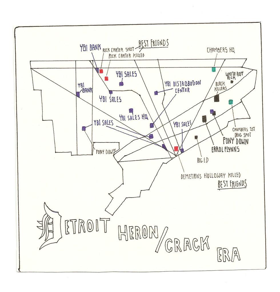 Detroit map   hannesisaksson   Flickr