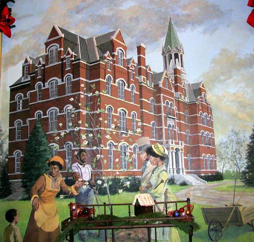 painting hotel tn nashville tennessee opryland oprylandhotel bmok oprylandballroommural