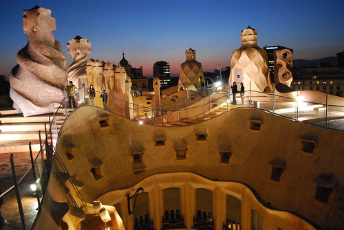 Barcelona city scape | by Gone Lone Wolf