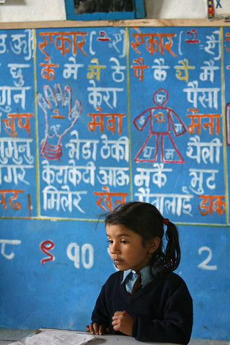 Student at Shreeshitalacom Lower Secondary School | by World Bank Photo Collection