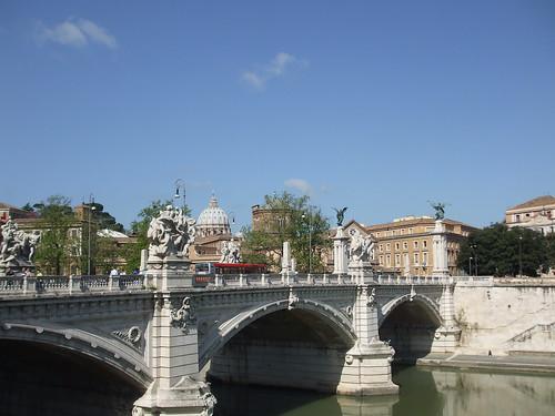 Roma - Ponte Vittorio Emanuele II | by Birnardo