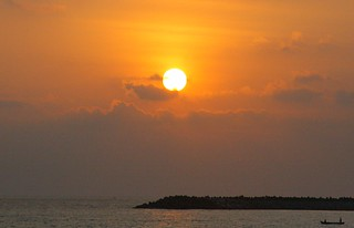 Sunset, Kollam Beach | by jay8085