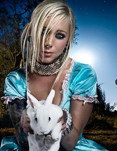 Maria Brink Heavy Metal Barbie Vox For In This Moment Cl Flickr