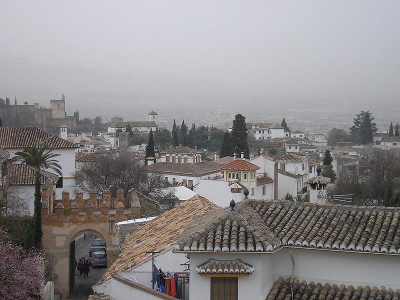 Albaicín y Puerta de Fajalauza, Granada