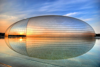 "The spaceship has landed... [Beijing Opera House (""The Egg"") - 国家大剧院] 