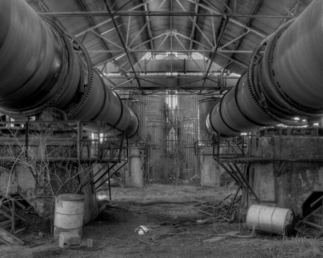 Inside Abandoned Factory - Ottawa, Kansas