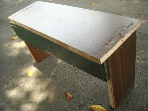 木工教室 作品 板凳