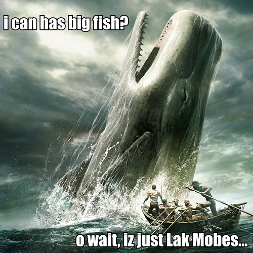 Moby Dick... or Lak Mobes!