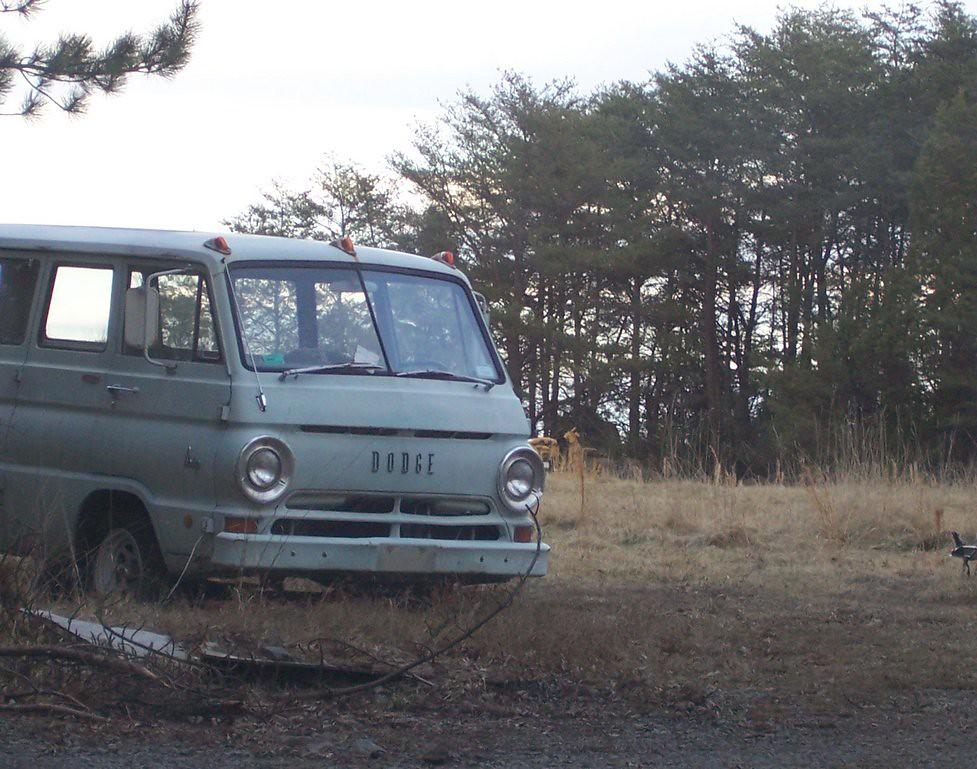 Old Dodge Van Near Lee Highway Quarry Robert Scott Bolling Flickr