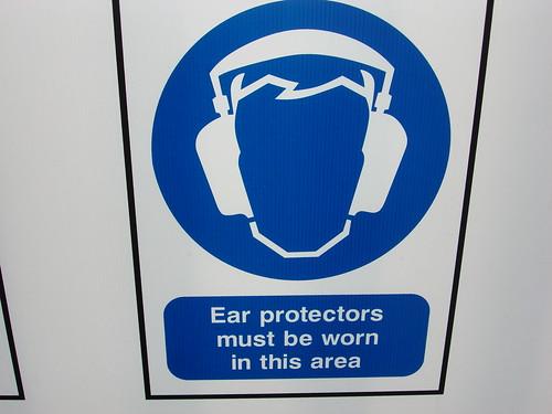 Ear Protectors sign