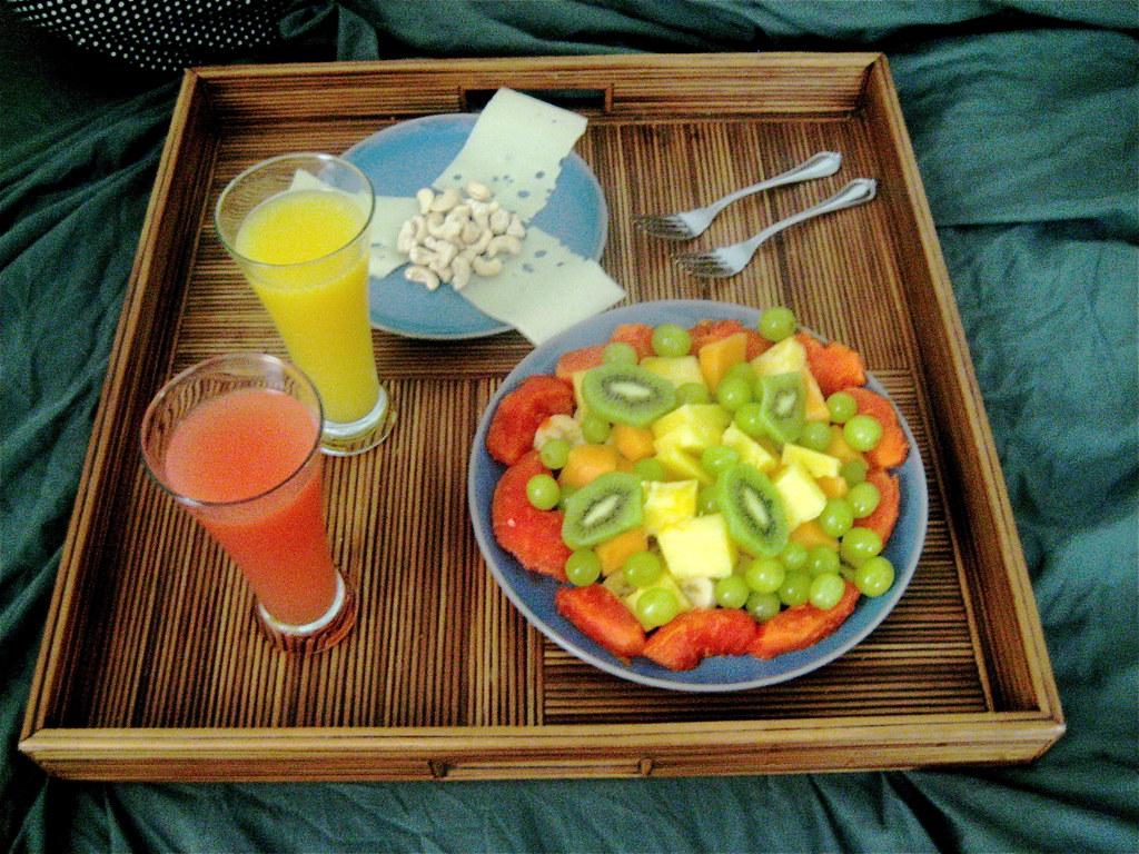 Healthy Breakfast In Bed Chris Goldberg Flickr