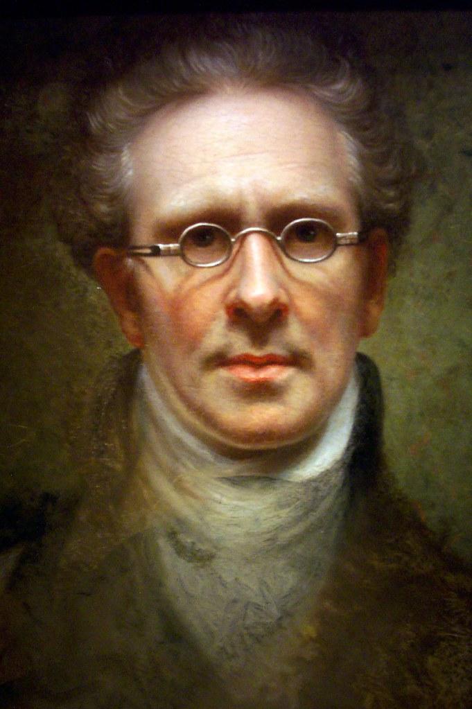 Rembrandt Peale ~ Self Portrait, 1846