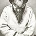 Mariñeiro saami, retrato de 1884 do príncipe Roland Bonaparte / Autor: saamiblog