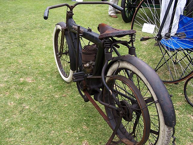Pierce motorbike