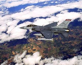 General Dynamics : F-16C : Fighting Falcon