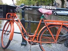 Orange Bike Amsterdam