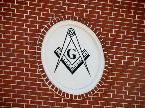 Gray Lodge #329 Building Square & Compasses | by mrbill