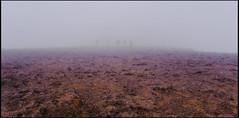 Niebla sobre el Roque Nublo
