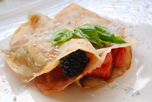 Vegan Berry Crepes | by Brisbane Falling