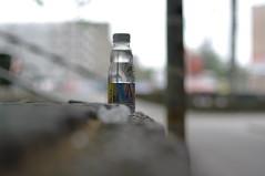 bokeh bottle