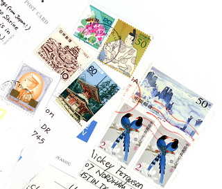 Thailand Japan China Stamp Collages | by micklpickl