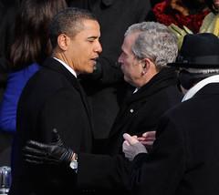 Inauguration Day 2009: Bush congratulates Obama | by USA TODAY