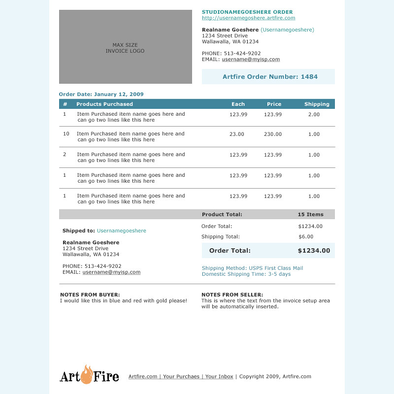 Html Invoice Simple Clean And Clear Invoices Email Html Flickr