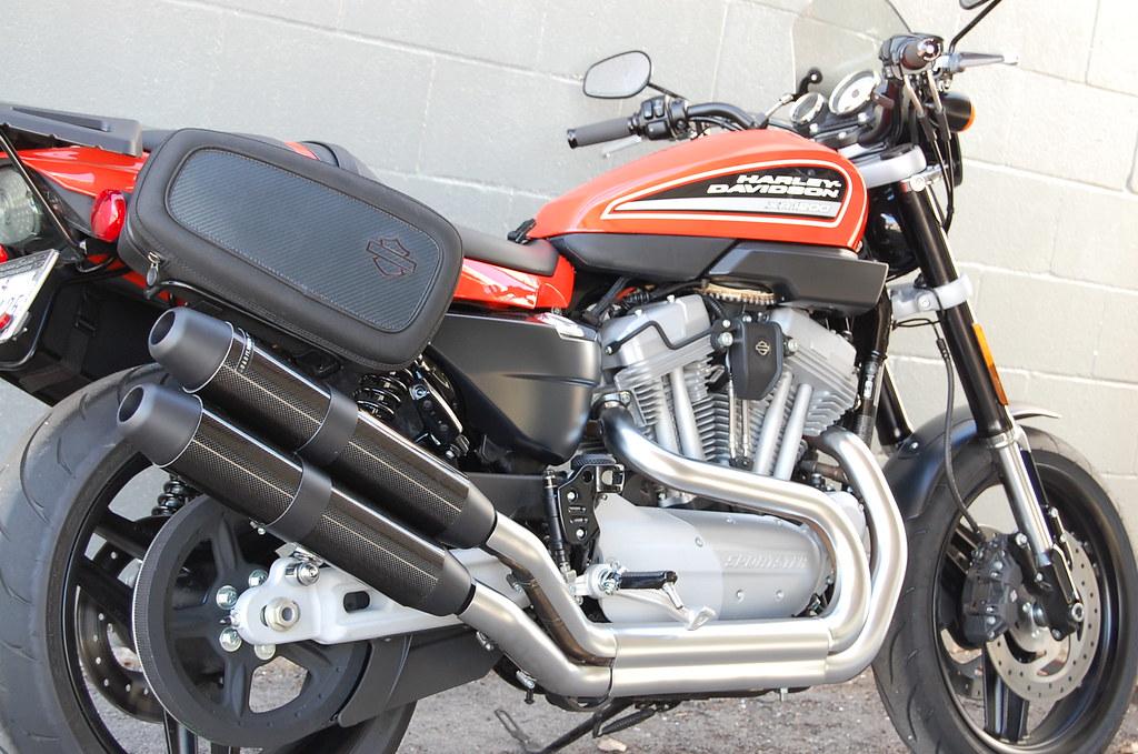 Black ceramic & Carbon core Slipon For Harley Davidson XR1… | Flickr