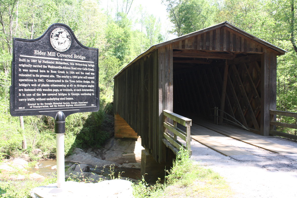 Elder Mill Covered Bridge | Oh, and the Google cameras went … | Flickr