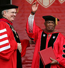 Irving Burgie Received Honorary Degree From St. John's University | by lionelane
