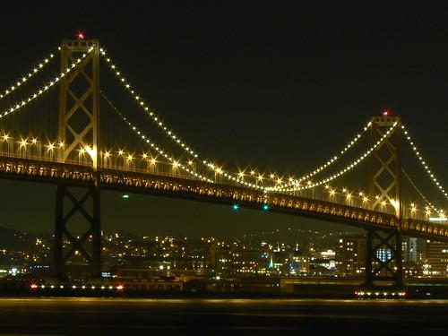 The Bay Bridge to San Francisco   by Brad Andersohn