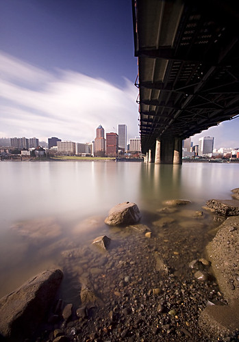 longexposure bridge oregon river portland cityscape hawthorne willamette nd400 reallylongexposure hoyamoose