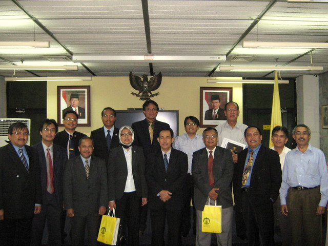 UTM delegation visit to Director-General of Higher Education, Indonesia
