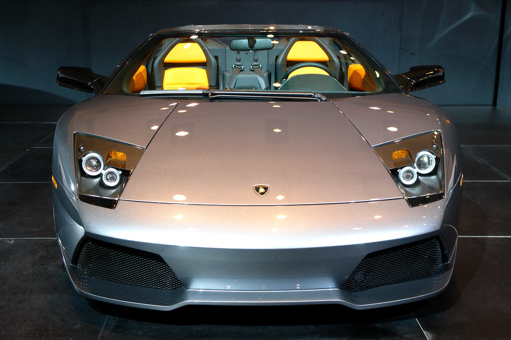 Lamborghini Murcielago Front View At The Toronto Auto Sh Flickr
