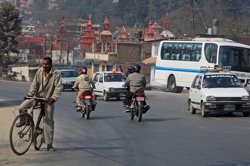 Street traffic in Kathmandu | by World Bank Photo Collection