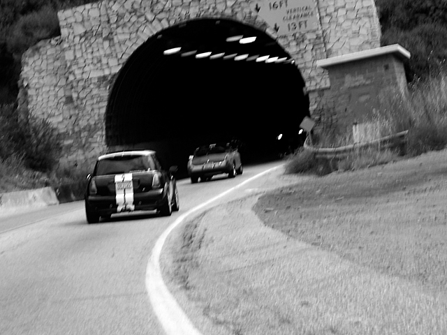 Malibu tunnel