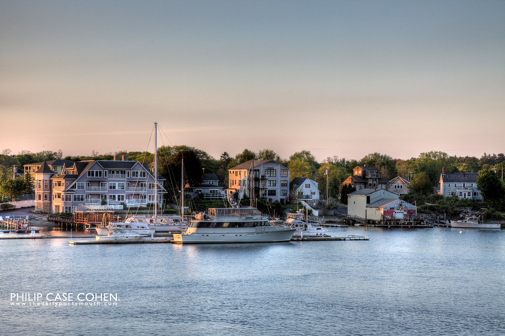 Kittery, Maine by Philip Case Cohen