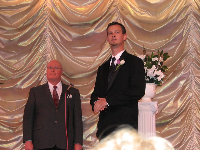 The Officiant & Groom