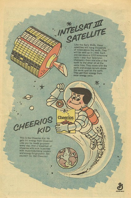 1968 Cheerios ad with Cheerios Kid