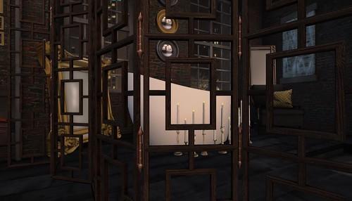 4 Seasons of Bedrooms: Winter Noir (Winter Bathroom)   by Hidden Gems in Second Life (Interior Designer)