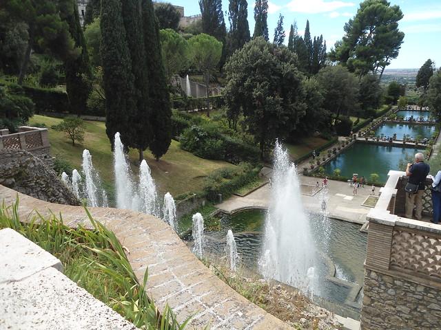 Fuentes, La Villa d'Este, Tivoli, Italia/Fountains, The Villa d'Este, Italy – www.meEncantaViajar.com