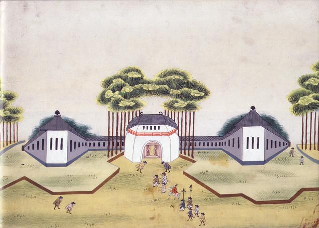 「西洋城郭」(江戸時代・19世紀頃)