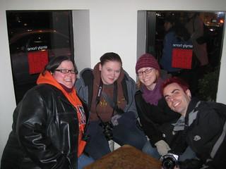 Kim, Lori, Heather and Ed | by Seldo