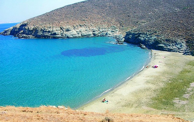 Τήνος, Παχιά Άμμος / The island of Tenos-Greece, Pachia Ammos beach